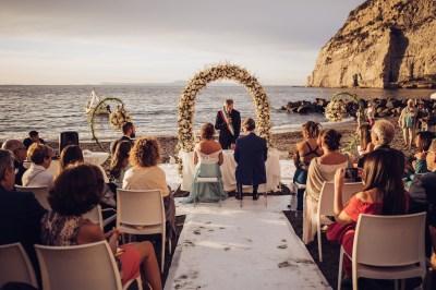 Beach Wedding and Meta di Sorrento Reception | Perfect ...
